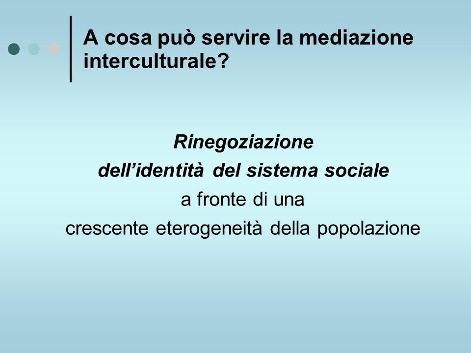 A cosa può servire la mediazione interculturale.