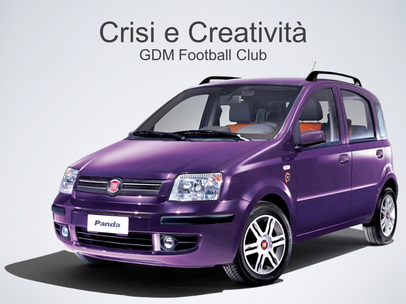 Crisi e Creatività GDM Football Club