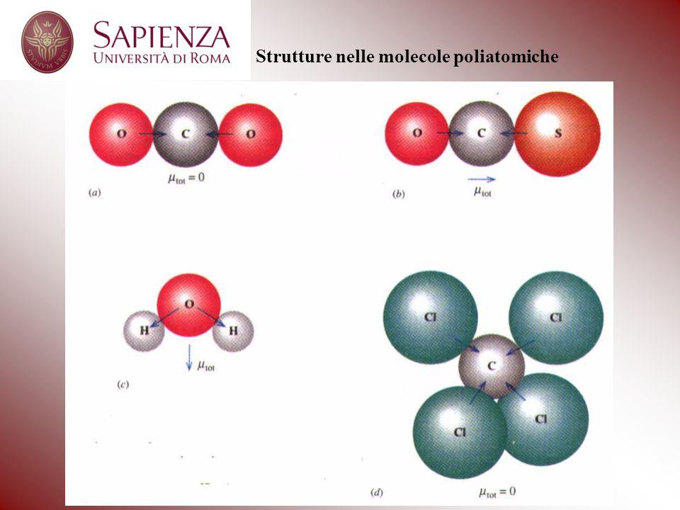 Strutture nelle molecole poliatomiche