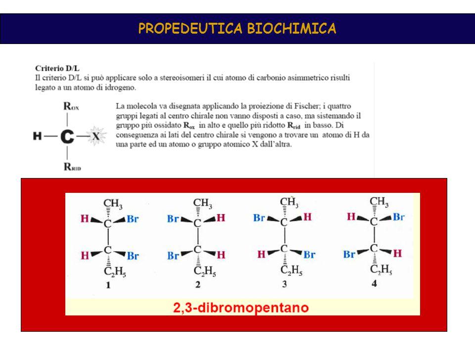 In una molecola possono essere presenti più centri chirali Dove il numero di stereoisomeri è pari a 2 n dove n è il numero di stereocentri