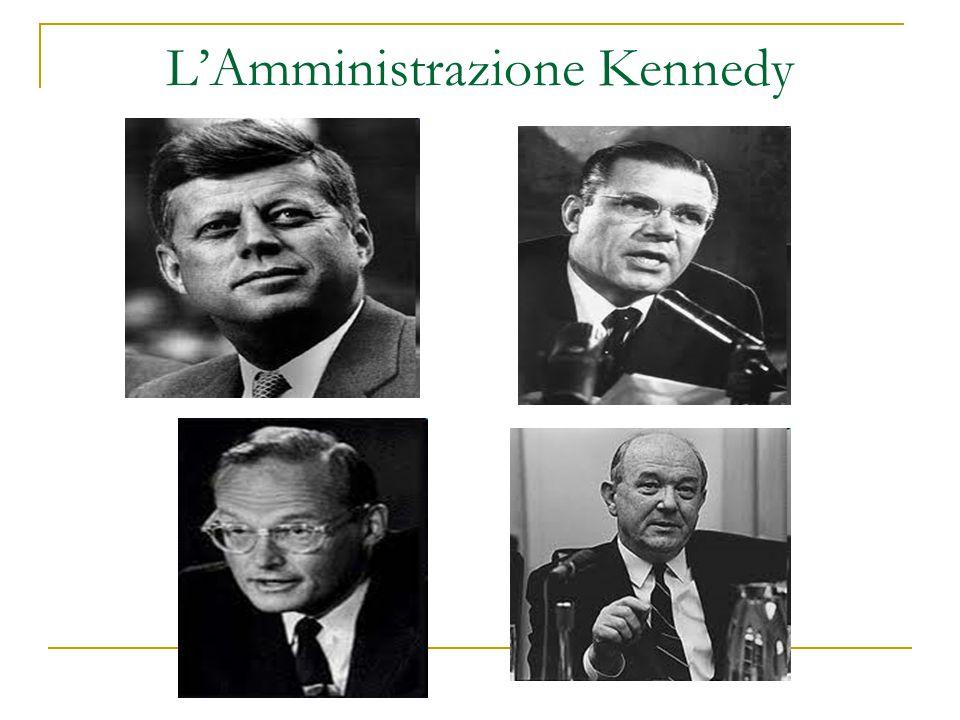 L'Amministrazione Kennedy