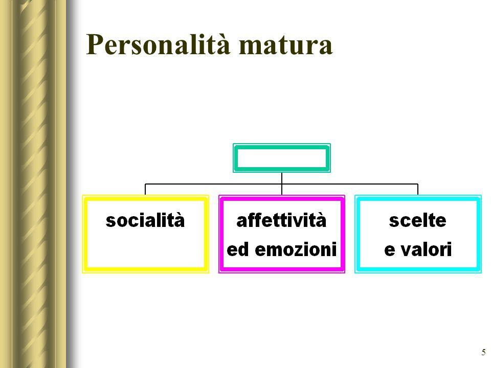 5 Personalità matura