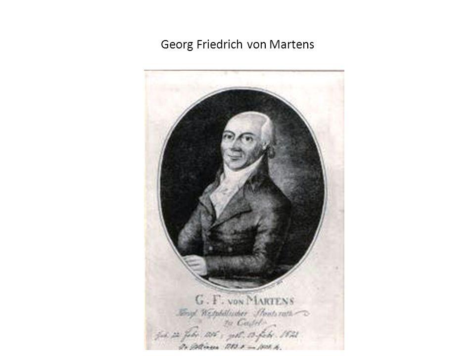 Georg Friedrich von Martens