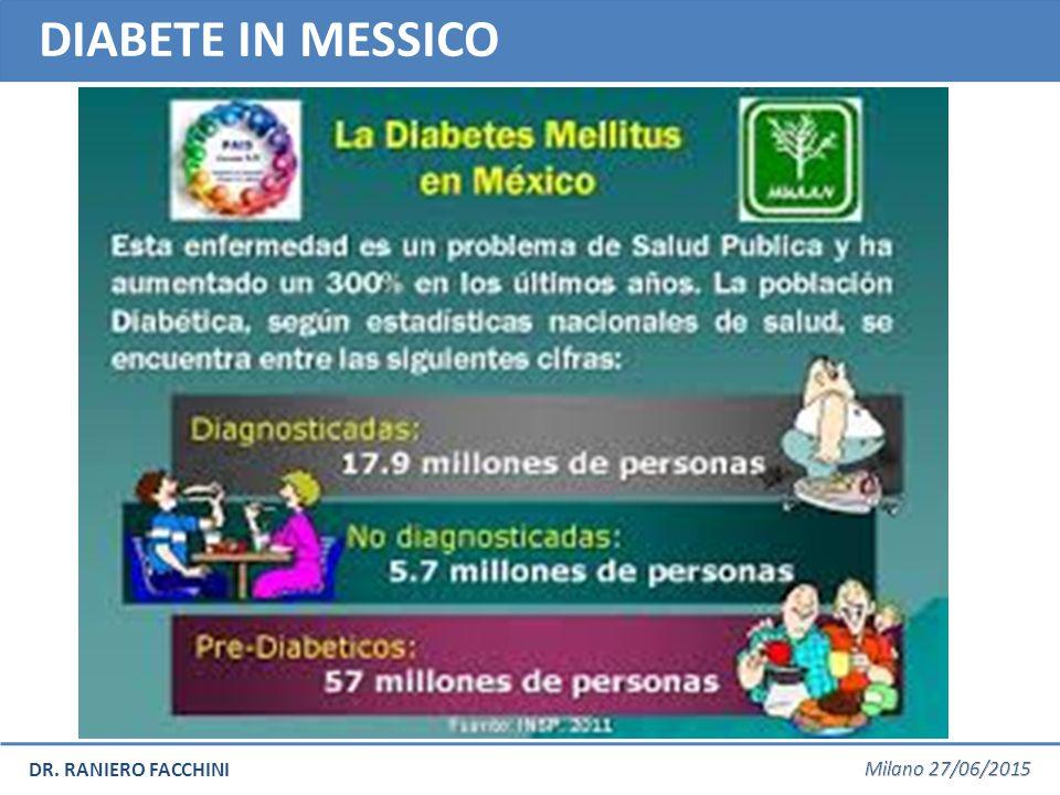 DR. RANIERO FACCHINI DIABETE IN MESSICO