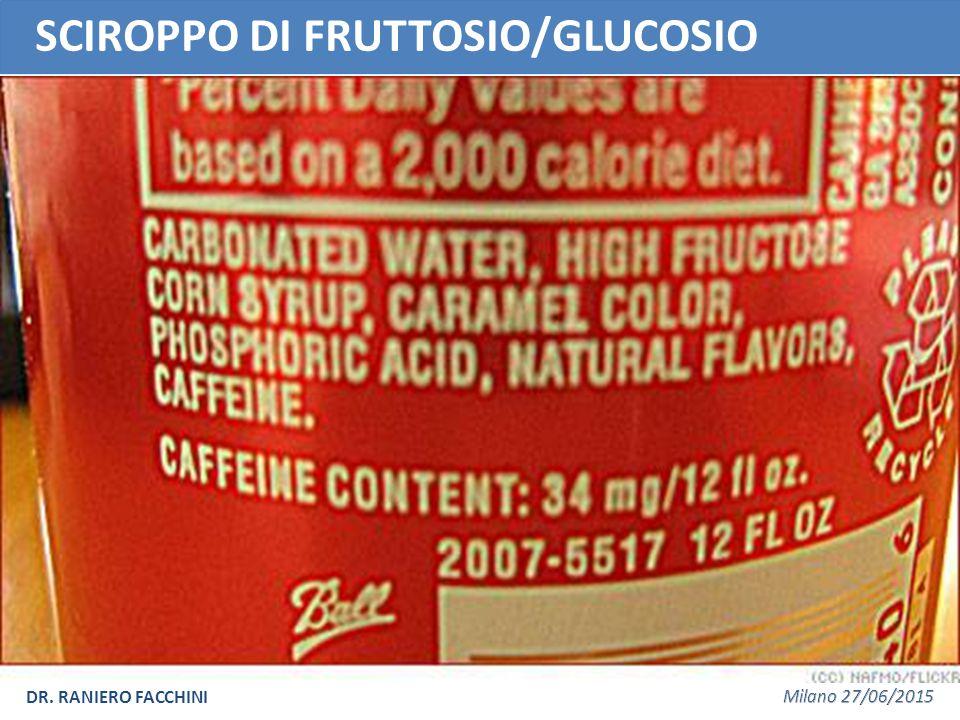 SCIROPPO DI FRUTTOSIO/GLUCOSIO