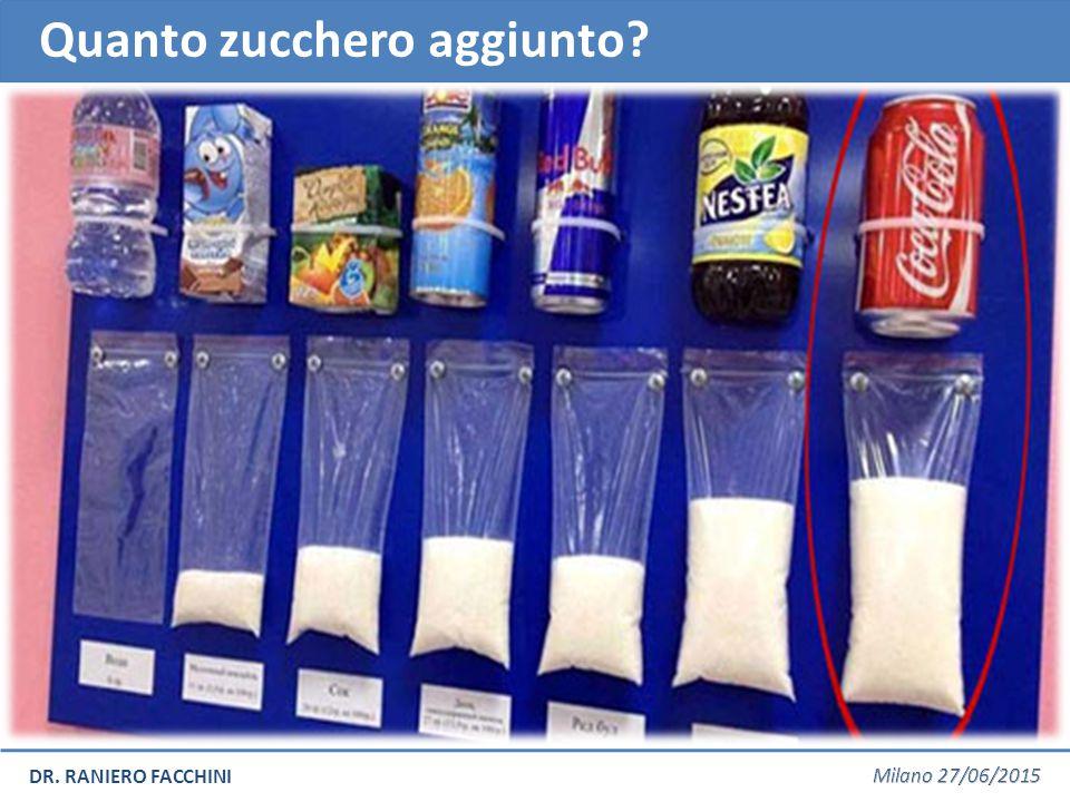 Quanto zucchero aggiunto?