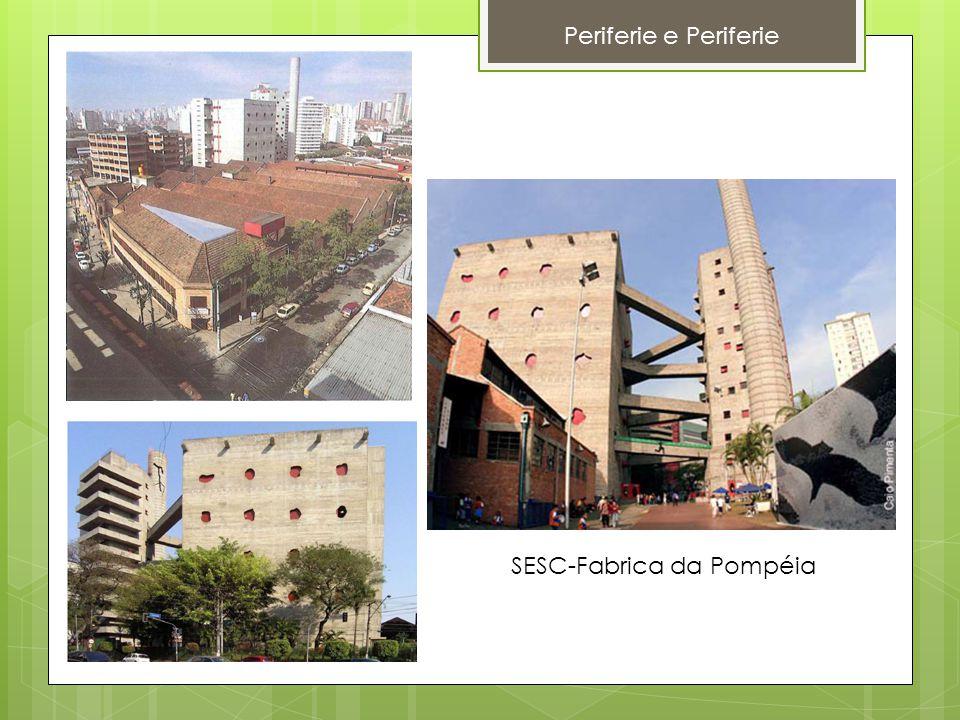 Periferie e Periferie SESC-Fabrica da Pompéia