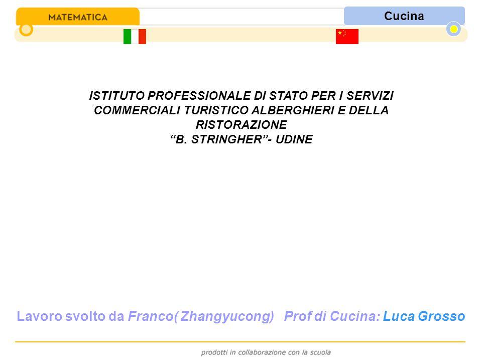 ISTITUTO PROFESSIONALE DI STATO PER I SERVIZI COMMERCIALI TURISTICO ALBERGHIERI E DELLA RISTORAZIONE B.