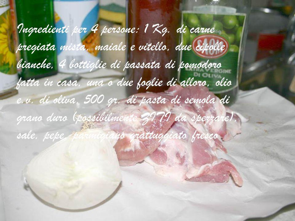 Ragù Napoletano semplificato by Aflo Monsù Tina Dedicato ai nostri connazionali in tutto il mondo Antonio.florino@fastwebnet.it