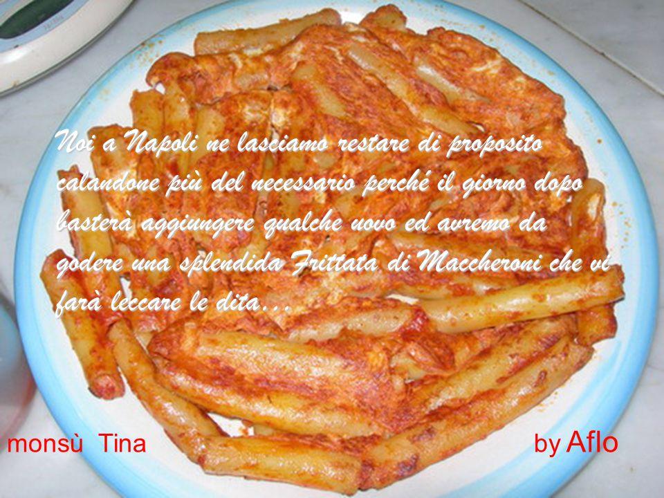 Avrete preparato oltre che un piatto di pasta e carne al sugo gustosissimo, uno dei Mostri Sacri della cucina Napoletana ed è molto raro ritrovare in