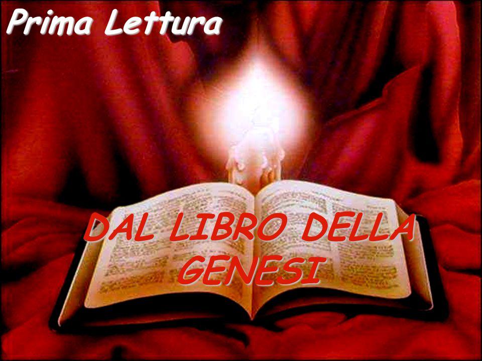 DAL LIBRO DELLA GENESI Prima Lettura