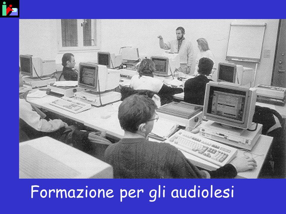 Formazione per gli audiolesi
