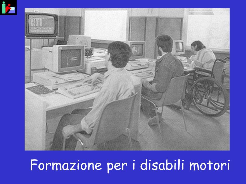 Formazione per i disabili motori