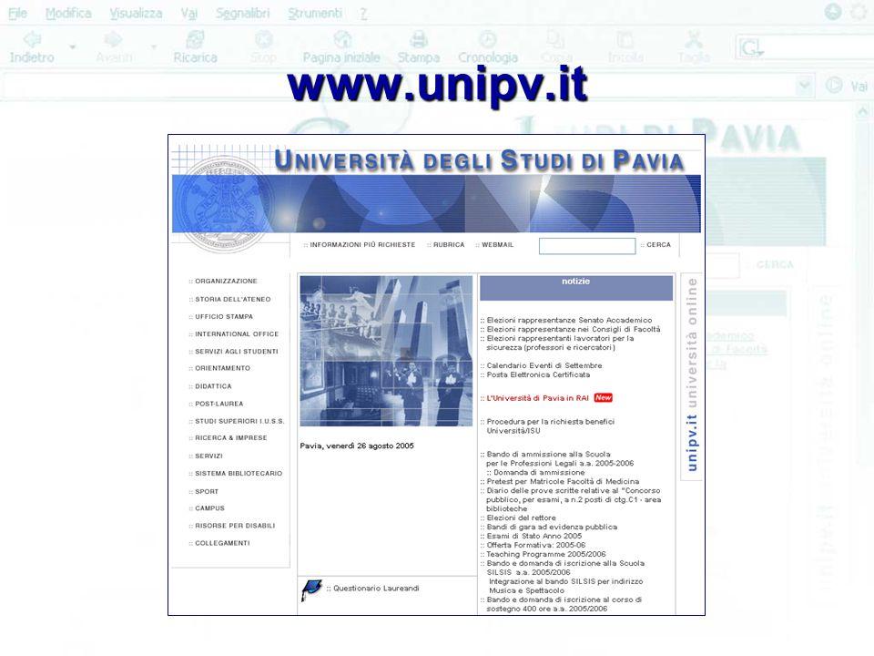 www.unipv.it