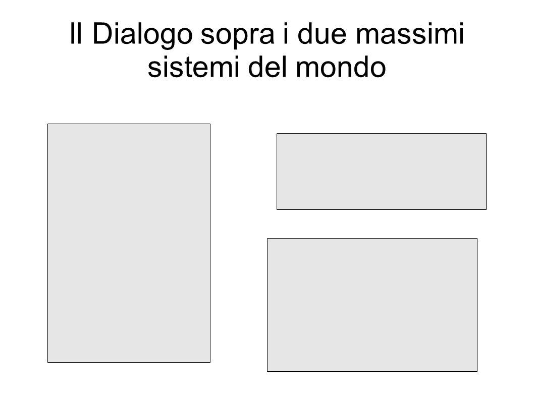 Il Dialogo sopra i due massimi sistemi del mondo