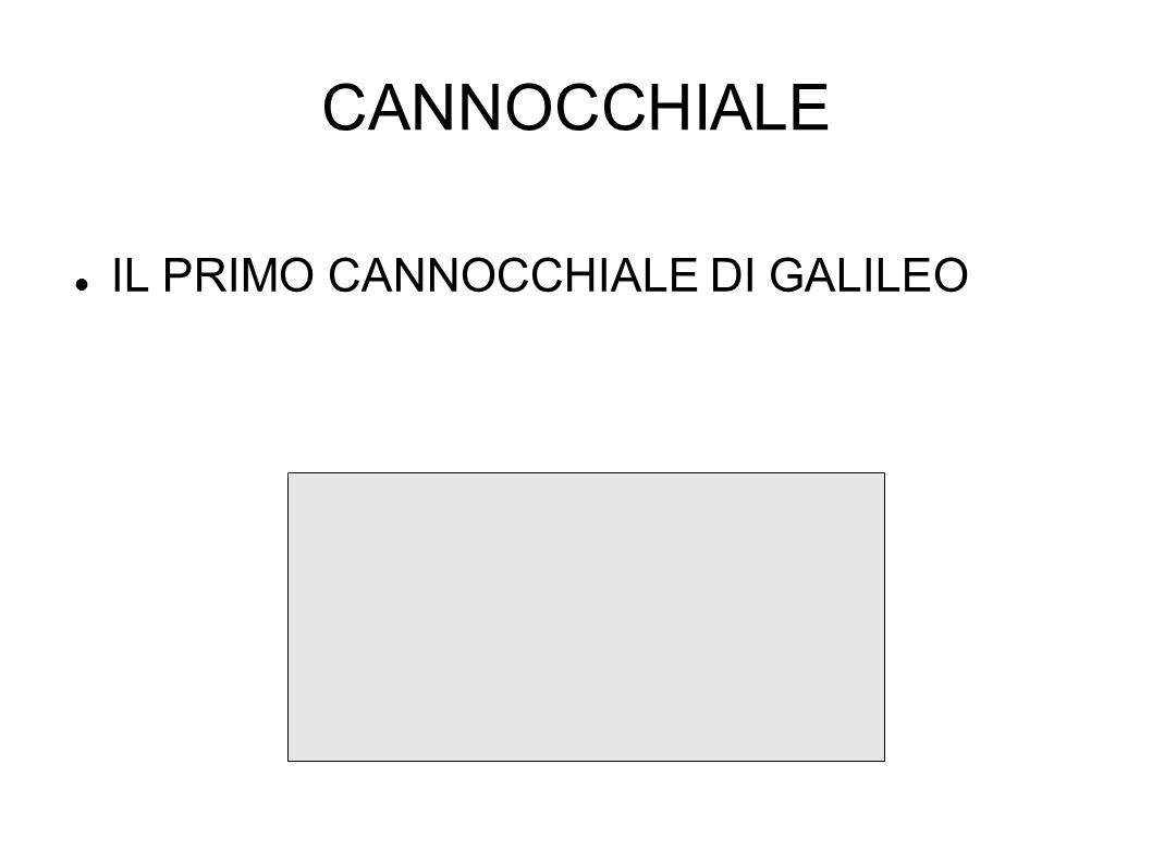 CANNOCCHIALE IL PRIMO CANNOCCHIALE DI GALILEO