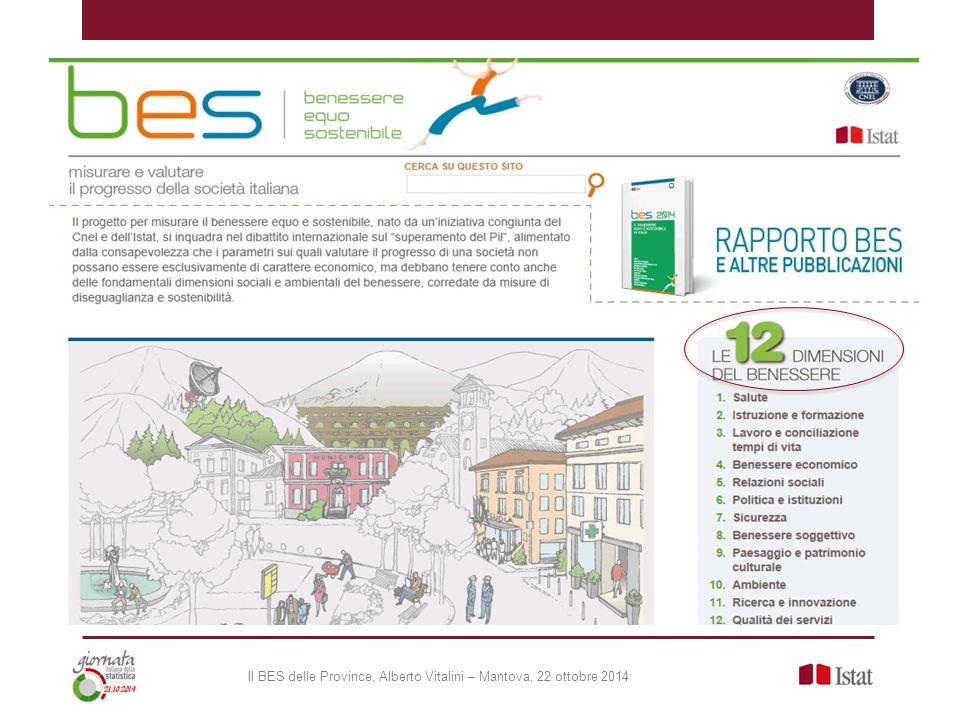 UrBes: le città metropolitane Nasce il Progetto UrBes con lo scopo di creare una rete di città metropolitane per la sperimentazione e il confronto di indicatori di benessere urbano equo sostenibile.