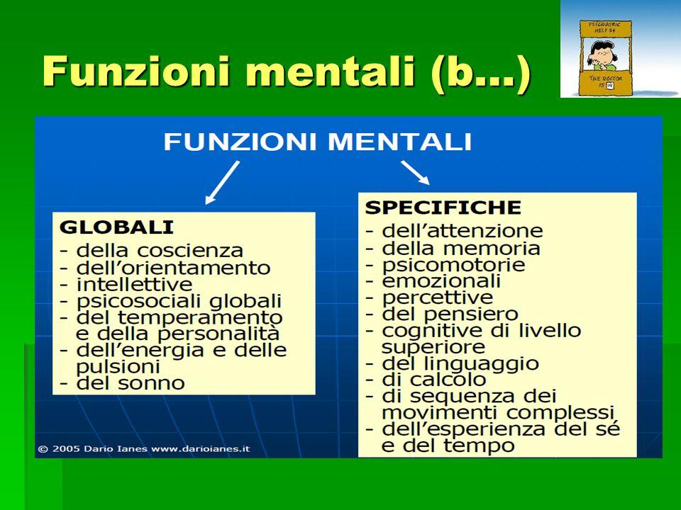 Funzioni mentali (b…)