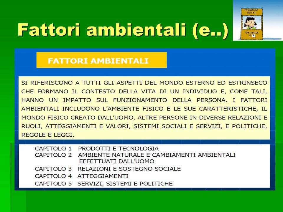Fattori ambientali (e..)