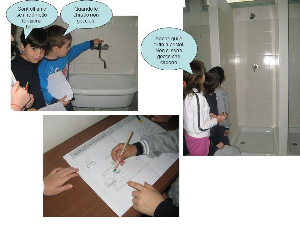 Controlliamo bene anche questi rubinetti Lo scarico deve funzionare bene Anche questa gomma non deve gocciolare