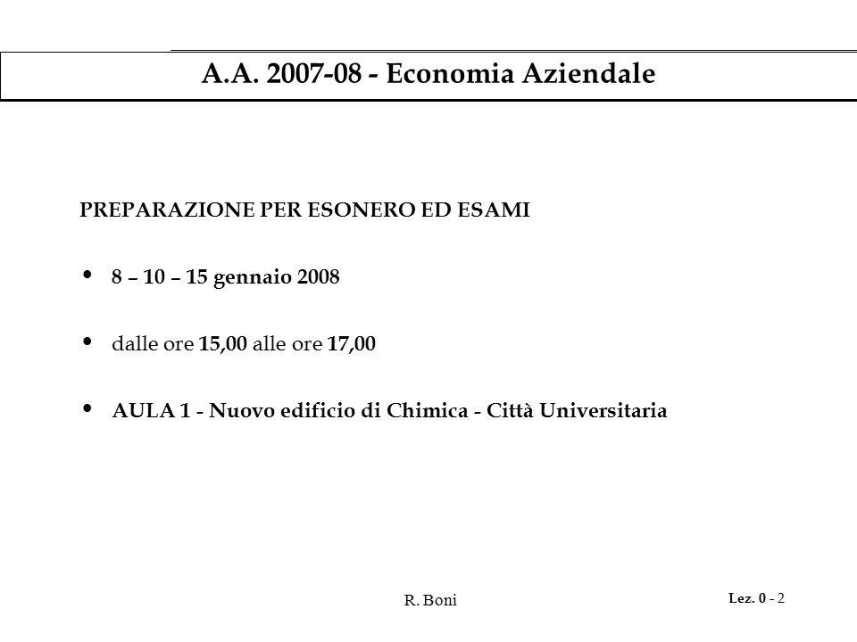 R.Boni Lez. 0 - 3 A.A.