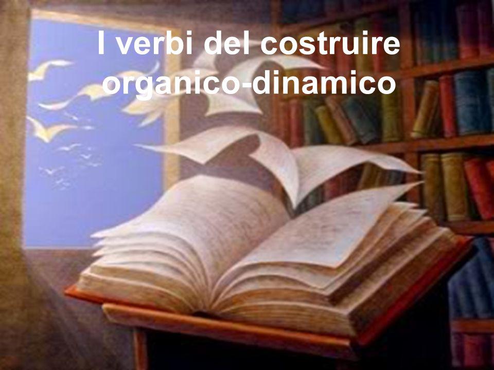I verbi del costruire organico-dinamico