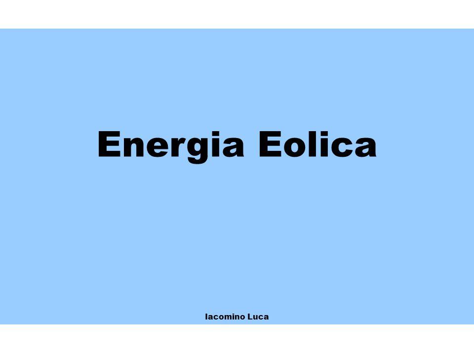 Energia Eolica Iacomino Luca