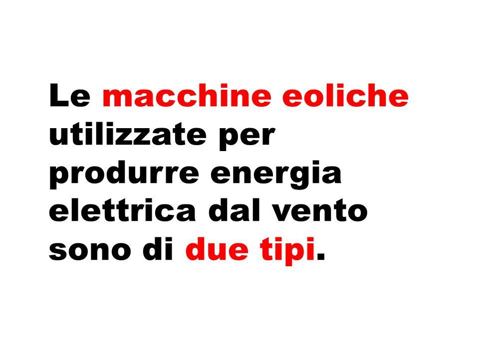 Il generatore trasforma l'energia meccanica in energia elettrica.