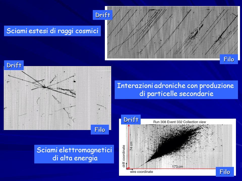 Tipologia degli eventi e (CC) e  (NC) Uno degli scopi principali di ICARUS e` lo studio dei processi di neutrino, per la misura dei parametri di oscillazione.