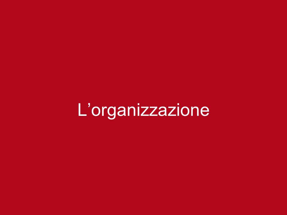 L'organizzazione