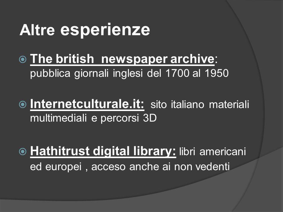 Tratto da… la Republica, domenica 21 ottobre 2012, Next big data di Riccardo Staglianò Chridi