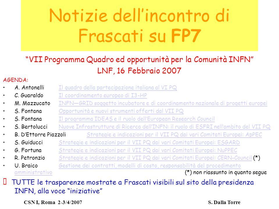CSN I, Roma 2-3/4/2007 S.