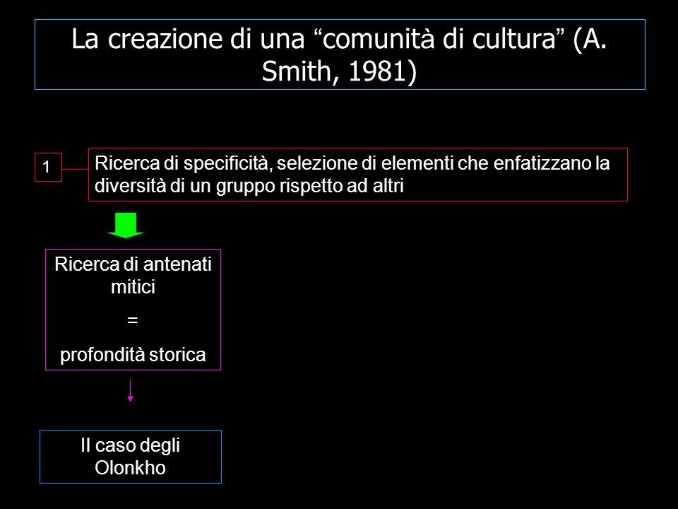 La creazione di una comunit à di cultura (A.