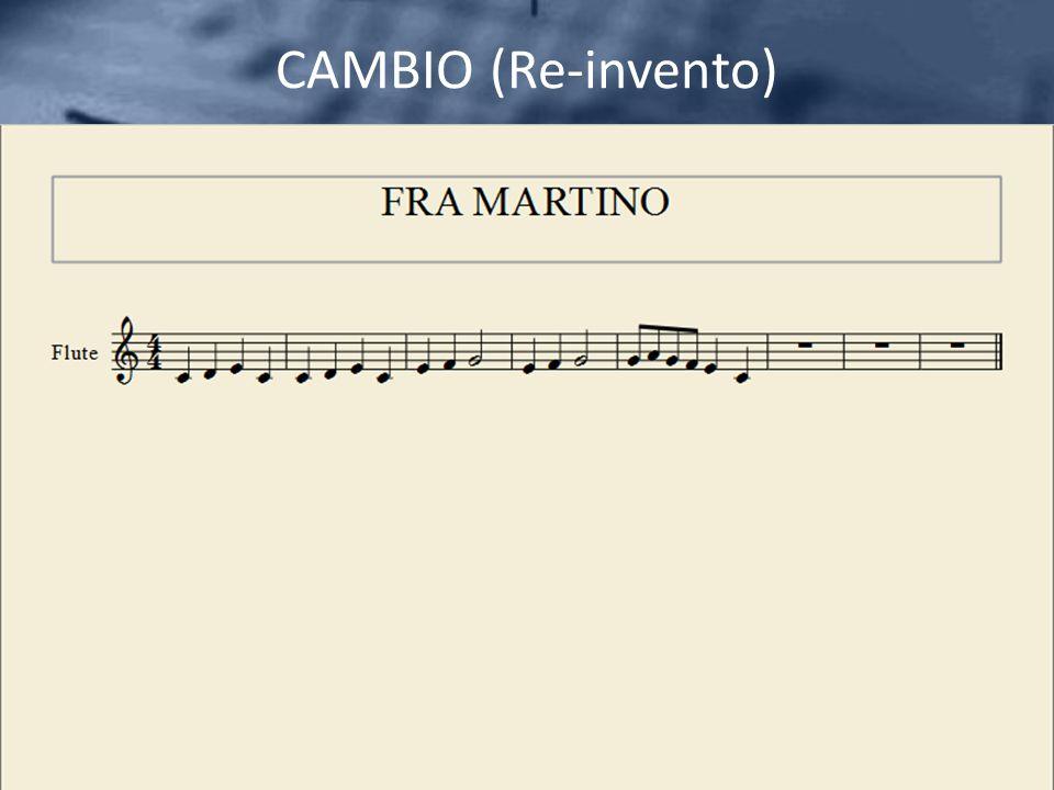 CAMBIO (Re-invento)