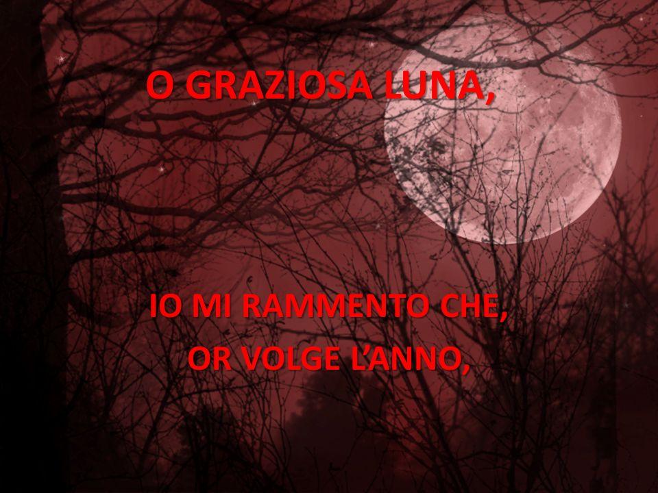GIACOMO LEOPARDI : ALLA LUNA MUSICA: TO THE EDGE OF THE EARTH ELABORAZIONE ELENA