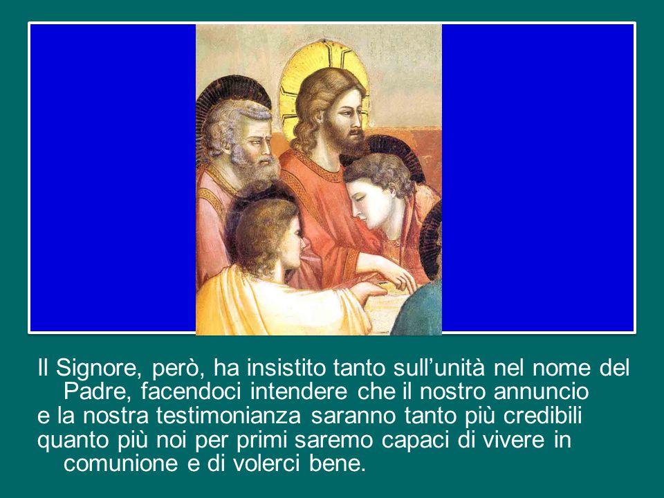 Questa unità era già minacciata mentre Gesù era ancora tra i suoi: nel Vangelo, infatti, si ricorda che gli apostoli discutevano tra loro su chi fosse