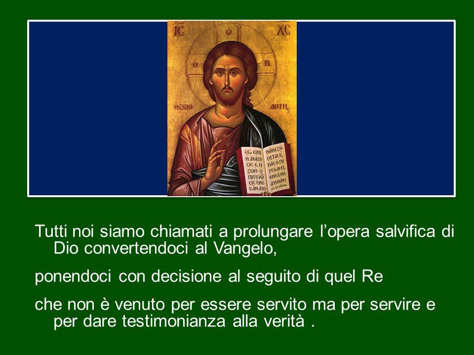 Al termine del tempo stabilito, il Signore consegnerà a Dio Padre il Regno e gli presenterà tutti coloro che hanno vissuto secondo il comandamento dell'amore.