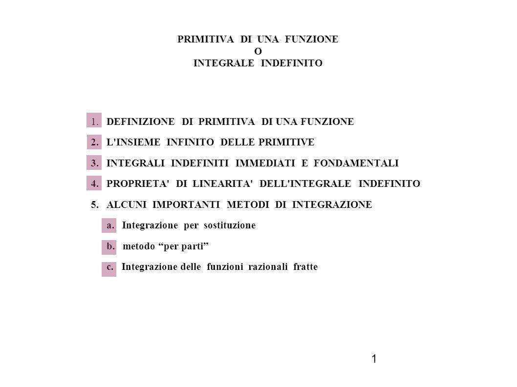 12 5.b INTEGRAZIONE PER PARTI