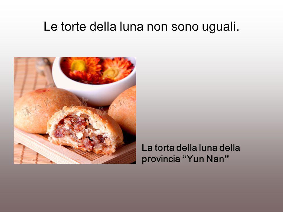 """Le torte della luna non sono uguali. La torta della luna della provincia """"Yun Nan"""""""