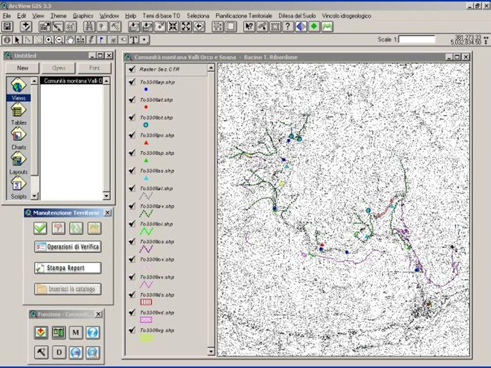 3 luglio 2006 Provincia di Torino - Assessorato Pianificazione Territoriale - Servizio Difesa del Suolo 8 Immagine SMOT localizzazione