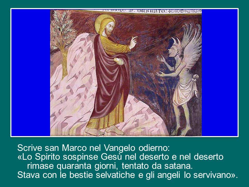 Mercoledì scorso, con il rito delle Ceneri, è iniziata la Quaresima, e oggi è la prima domenica di questo tempo liturgico che fa riferimento ai quaranta giorni trascorsi da Gesù nel deserto, dopo il battesimo nel fiume Giordano.