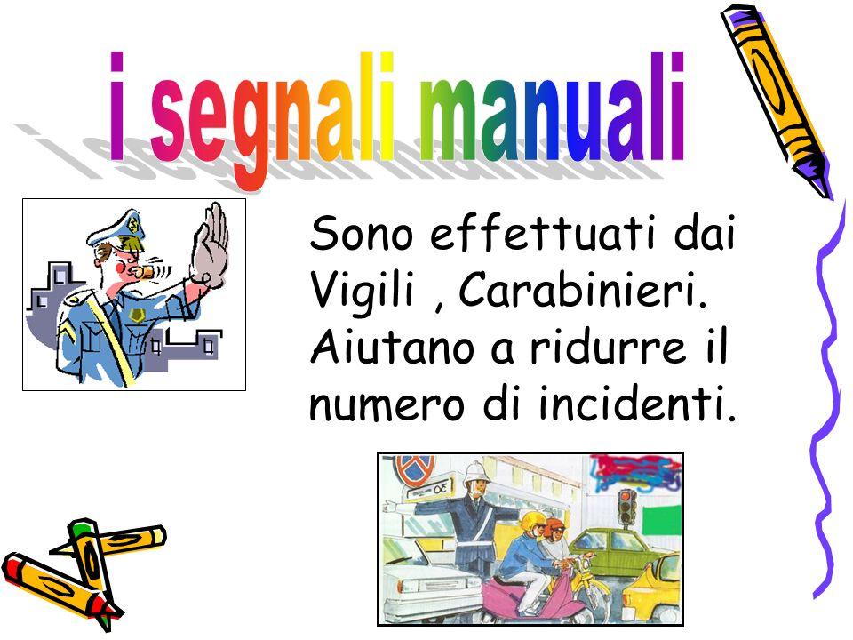 Sono effettuati dai Vigili, Carabinieri. Aiutano a ridurre il numero di incidenti.