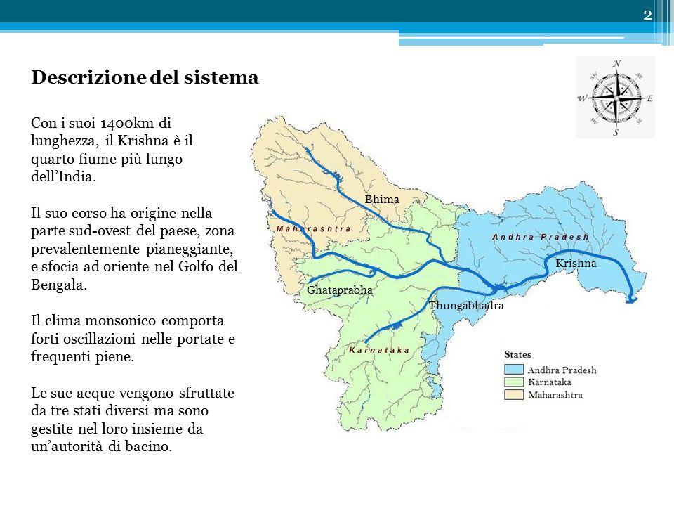 Con i suoi 1400km di lunghezza, il Krishna è il quarto fiume più lungo dell'India.