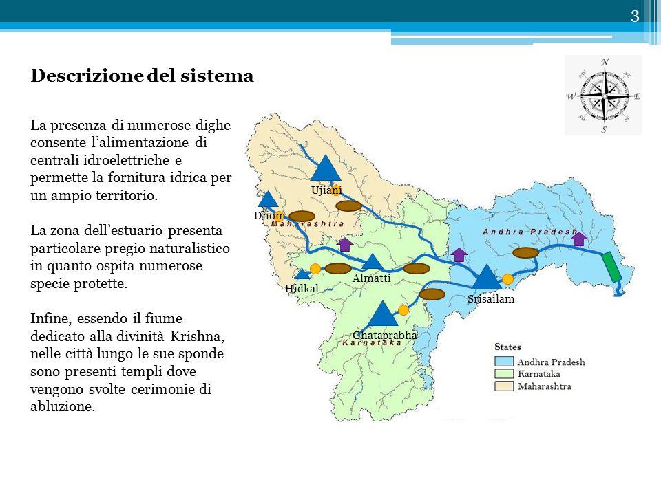 Descrizione del sistema 3 La presenza di numerose dighe consente l'alimentazione di centrali idroelettriche e permette la fornitura idrica per un ampio territorio.