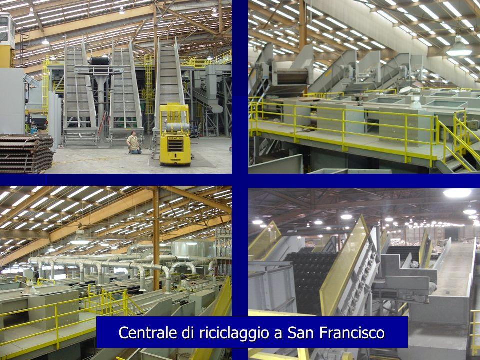 Centrale di riciclaggio a San Francisco