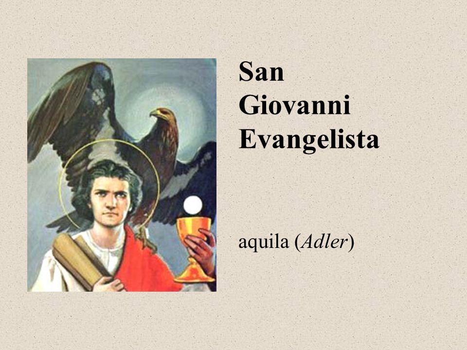 Giovanni Evangelista San aquila (Adler)