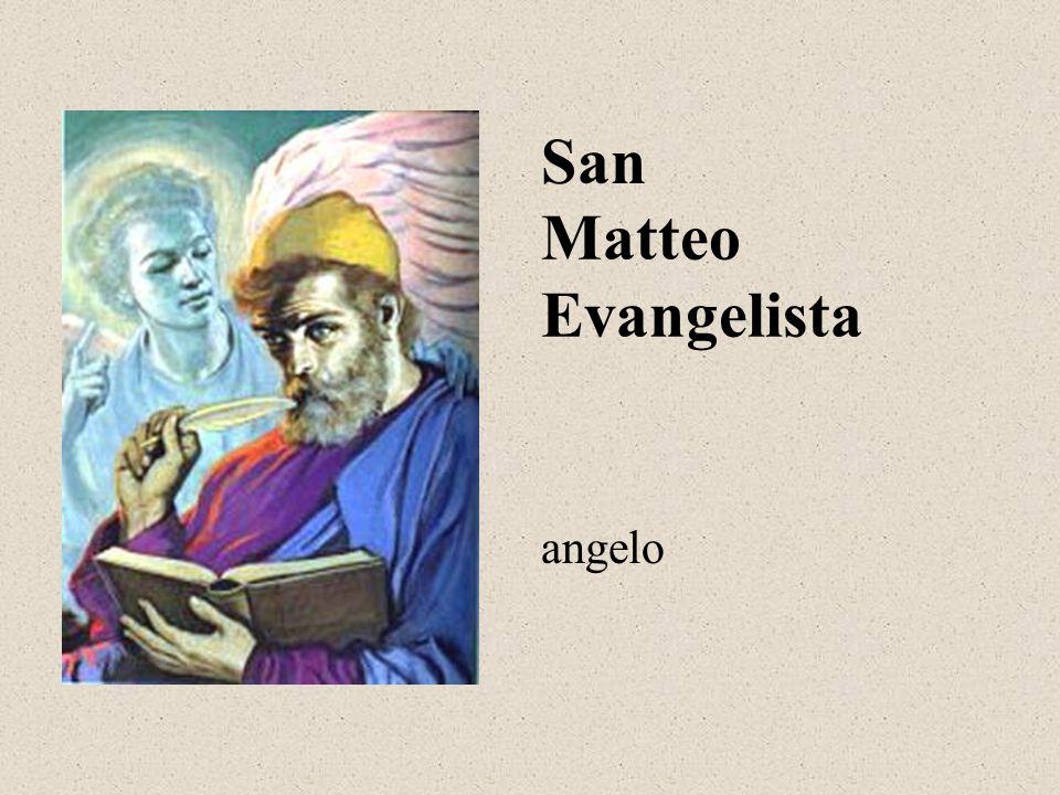 Matteo Evangelista San angelo