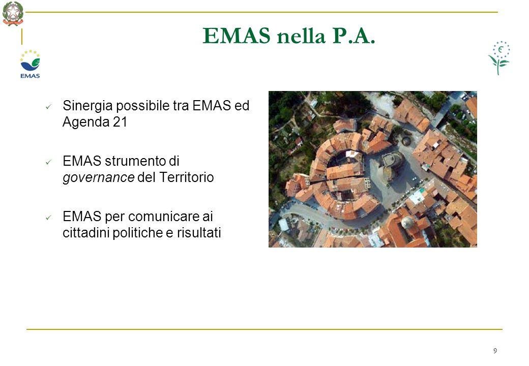 9 EMAS nella P.A.