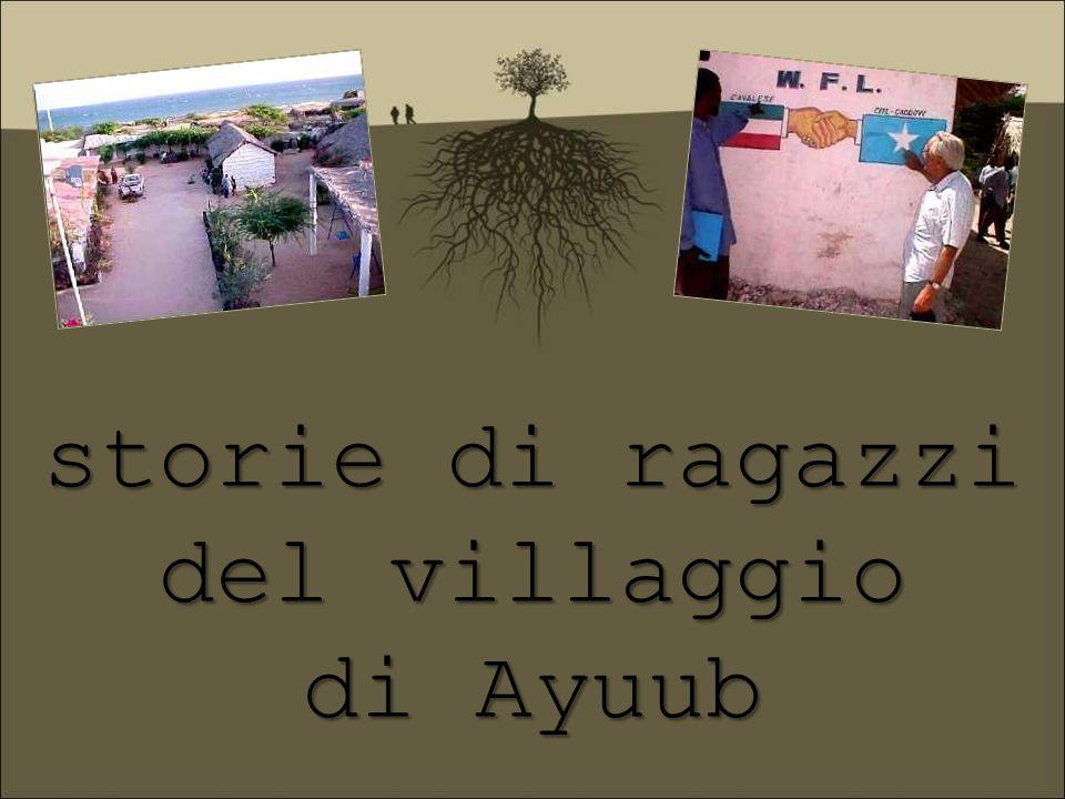 storie di ragazzi del villaggio di Ayuub