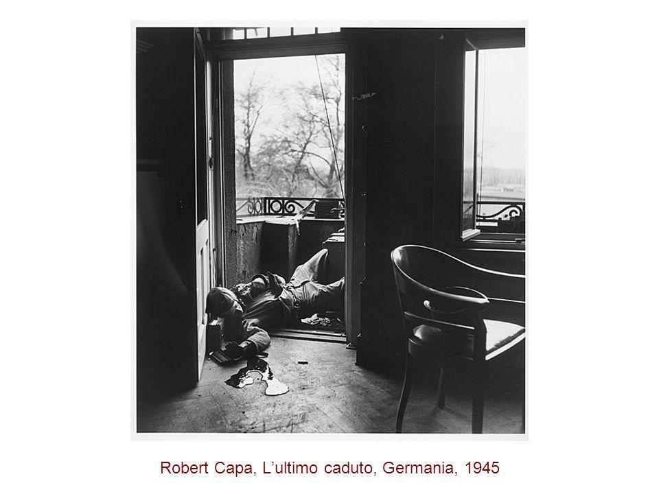 Robert Capa, L'ultimo caduto, Germania, 1945